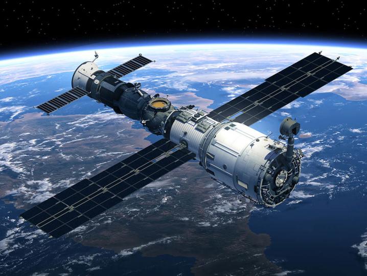 La station orbitale Chinoise Tiangong en orbitre.