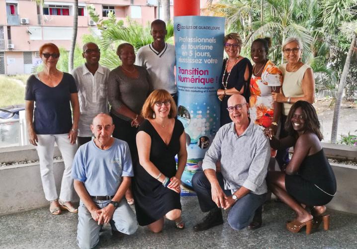 Stage formation Transition Numérique à la CCI Guadeloupe