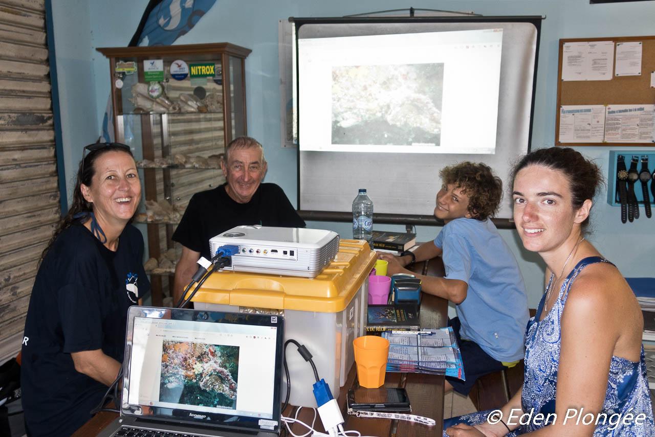 Les stagiaires Plongeur Bio Niveau 1