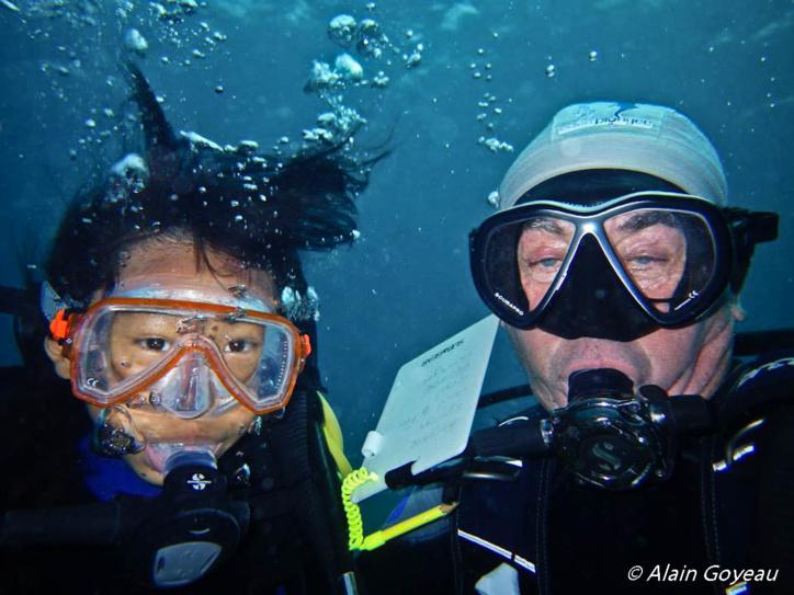La découverte du milieu marin des Guadeloupe est source d'étonnement.