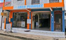 Le local d'Eden Plongee est situé sur le boulevard du front de mer.