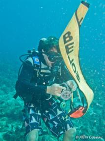 Formation plongeur Nitrox.