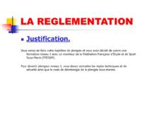 Réglementation N1