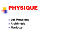 Physique N1.