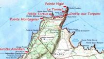 La Grande Vigie, nous voilà tout au nord de la Guadeloupe. Un décor époustouflant.