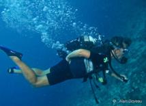 Formation plongée Guadeloupe. Maitrise du gilet.