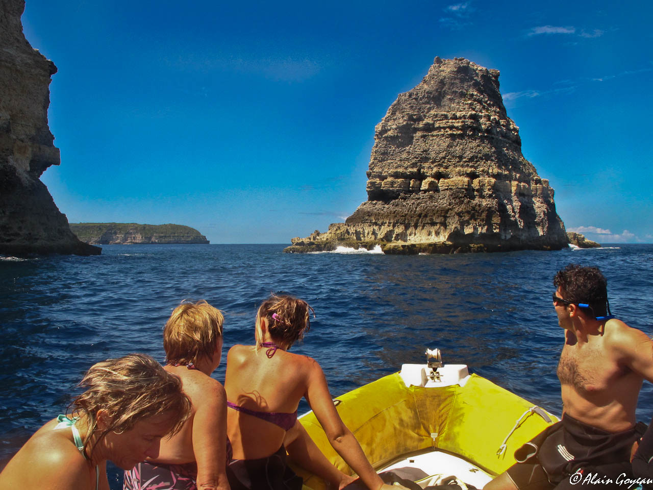 Plongée à la Grande Vigie, Guadeloupe.