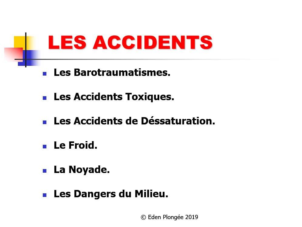 Théorie accidents niveau 3
