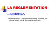 Réglementation Niveau 2.