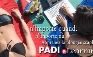 Formation en ligne Plongeur Open Water eLearning PADI.