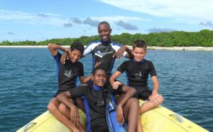 La plongée enfant ou jeune plongeur se pratique dés l'âge de 8 ans.