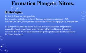 Cours Théorique Plongeur Nitrox.