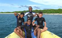 La plongée enfant ou jeune plongeur.